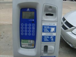 Digital Parking Meter by FhynixPhotos