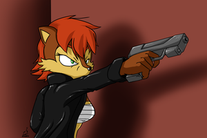 Fed Up And Taking Aim by prdarkfox