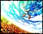 BLUE [SONIC] by LeonS-7