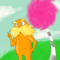 The Lorax by rinnax3