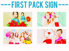 First Pack Signature by ChoiRin