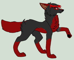 Red remade full body by LunaDarkWolf135