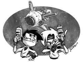 Gunstar Heroes by JoeMcGro