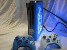 Rainbow Dash Custom Xbox 360 - All Items Front by Nightowl3090