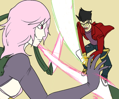 No more heroes 2 WIP by Koma404