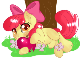Apple Bloom by KakashisChika