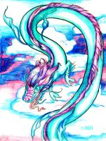 Zodiac Dragons : Aquarius by MilkToothCuts