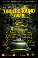 Underground Reaction Flyer by skam4