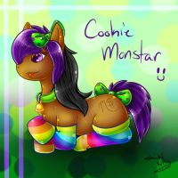 Cookie Monstar Pony by ShushiKitty