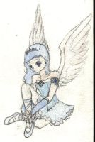 Little Angel n colour by FrogPrincess01