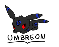 shiny umbreon request by luckyluna222