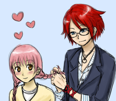 Hime x Allen by Hime-Takamura