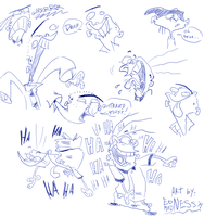 EEnE Sketches, doodles n crap by Edness-Madness