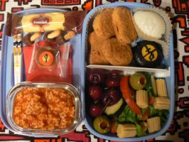 16 Good Luck Bento by myfairygodmother