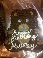 Teddy Bear Cake (Momma Bear) by wickedwitchinc