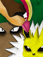 Pokemon Sketch - Colored by DAFORCEFilms