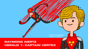 Captain Vertex - Pen Ward Style by ryuuseipro