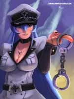 EsDeath by SteveMillersArt