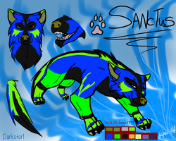 Sanctus Reference Sheet by Darkstor1