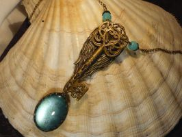 Key to the inner Universe - Necklace by Ganjamira
