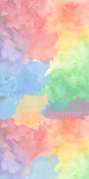 Rainbow Watercolor Custom Box Background by frostykat13