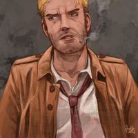 Daily Sketches John Constantine by fedde