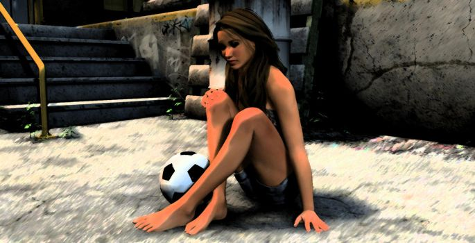 Soccer Girl by LordXarnor