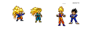 ssj3 goten and trunks by 100hypersonic