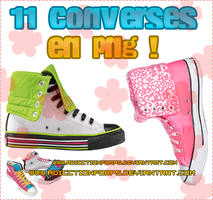 converses en png by adicctionforps