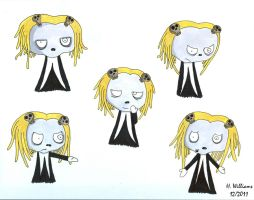 Many Faces of Lenore - 1 by 12jack12