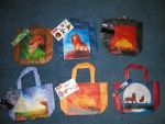 Subway Reusable Meal Bags by Duchess-of-Dismal