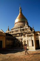 Myanmar - Temples Of Bagan2 by sevenths
