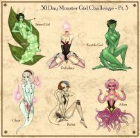 30 Day Monster Girl Challenge - Pt. 3 by mlang