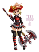 Tera mini pirate by MoMoJaH
