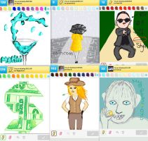 Draw Something!!! (Day 118) by Hedwigs-art
