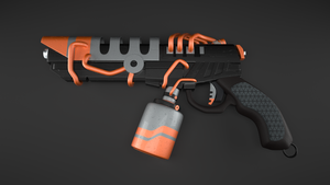 District 9 Handgun by pyrohmstr