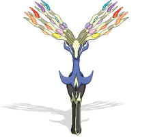 Xerneas pixel art by Pokedro