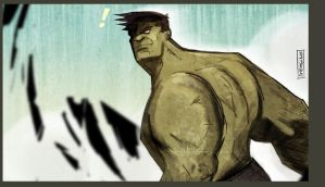Hulk 09 by CartoonCaveman