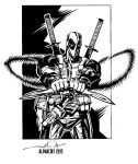 Deadpool Inks by AlphaCMT