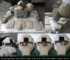 Zaku Sniper Custom Progress by eva-guy01