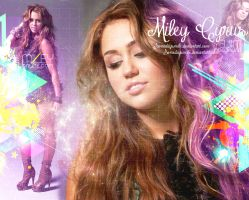 Wallpaper Miley Cyrus by Somedaysmile
