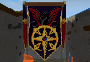 Minecraft Chaos Tapestry by Armameteus