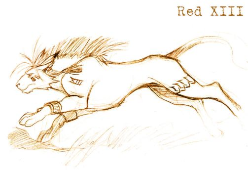 Red XIII by Lelia