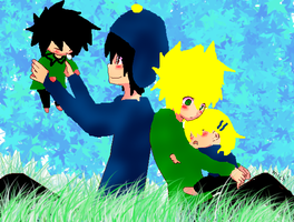 craig and tweek's family by nearnoteuchiha