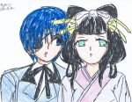 Sorrinna and Ciel 2 by Kaik-4The-WolfChi