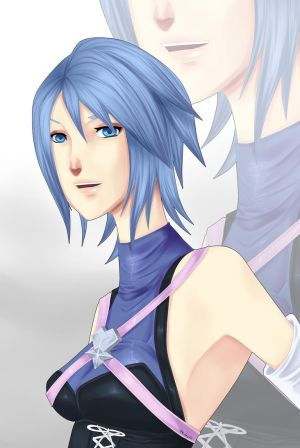 Kingdom Hearts AQUA by Friday70