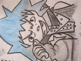 Black Star, outlined by art4life217