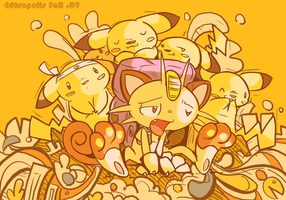 darrel the postman :meowth: by edtropolis
