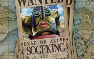 One Piece - Usopp Wanted by DharionDrahl