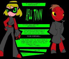 Hell Town introdution pg:1 by bigrexxx